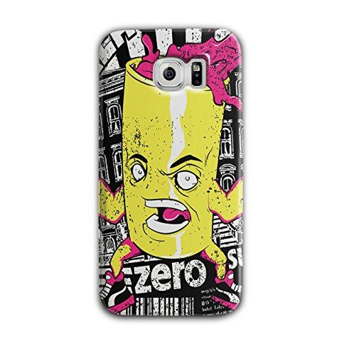 [Can of Juice Mascot Taste Sugar NEW Black 3D Samsung Galaxy S6 Case | Wellcoda] (Vending Machine Costume Ideas)