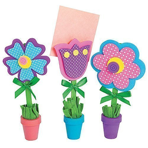 Flower Recipe Picture Holder Craft