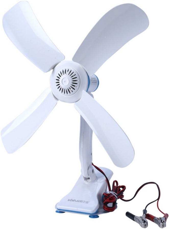 Ventilador de Techo 12V (DC) / Ventilador dedicado de la batería de la CC/ Ventilador de la batería/Ventilador de Techo Que acampa al Aire Libre: Amazon.es: Hogar