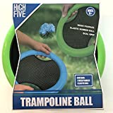 High Five Trampoline Ball Mesh Paddle Outdoor Game
