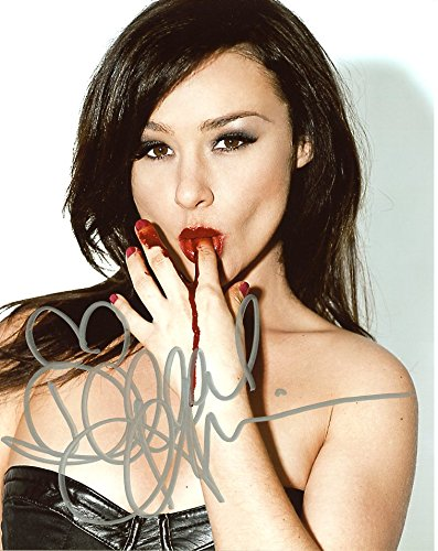 Danielle Harris SEXY BLOOD LICKING In Person Autographed PhotoPrivate Signing]()