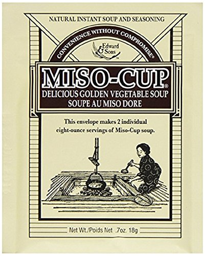 Miso-Cup Original Golden Vegetable Soup, 2-Serving Envelopes (Pack of 12)