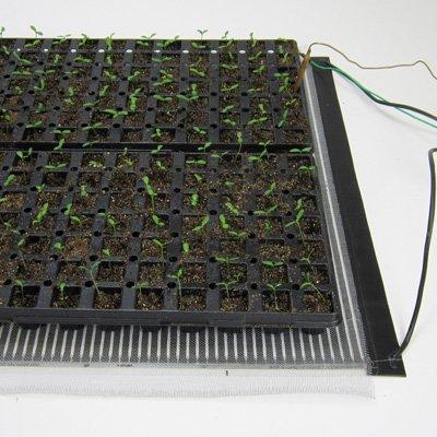 Ken-Bar Agritape Seed Starting 22'' x 10' Heat Mat with Grounding Screen