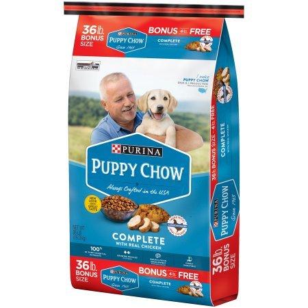 puppy chow dog food