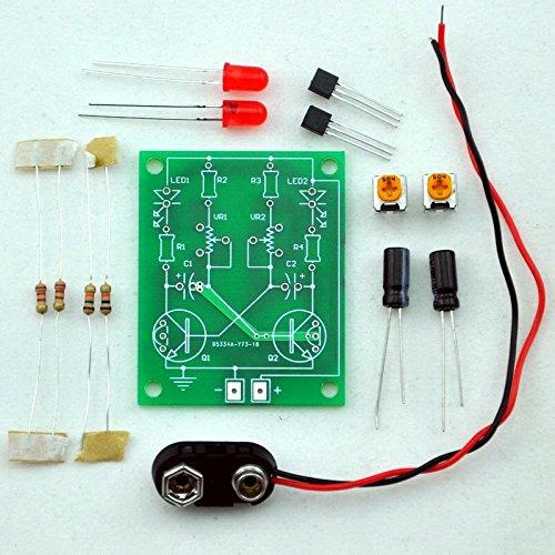 Adjustable Transistor Multivibrator Practical Soldering
