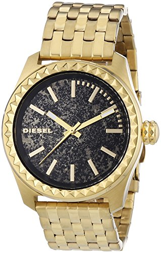 Diesel DZ5405 Ladies Kray Kray 38 Gold Tone Watch