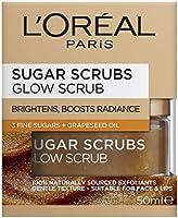 L'OREAL PARIS Sugar Scrubs Glow Face Scrub, 50 ml