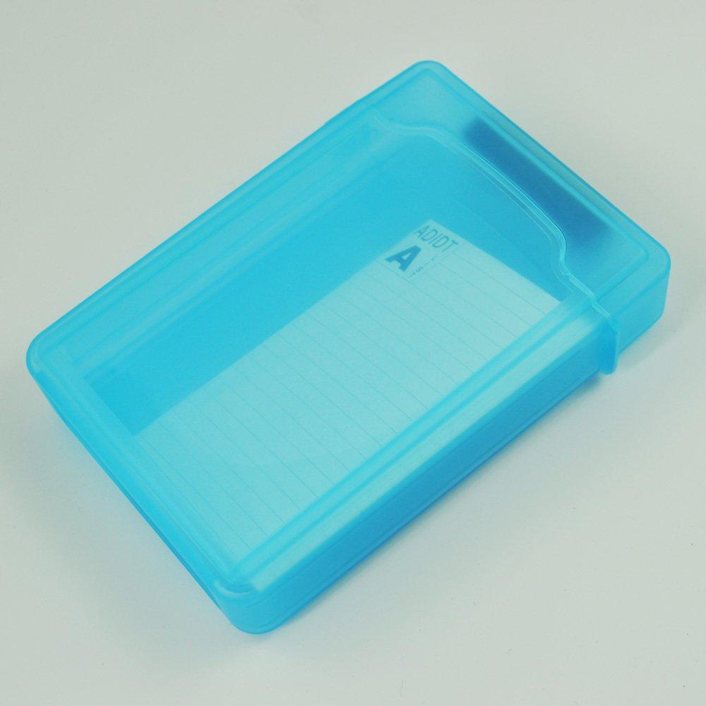 SODIAL(R) Caja de Almacenamiento IDE/SATA HDD Disco Duro 3.5-Pulgadas (Azul) 006011