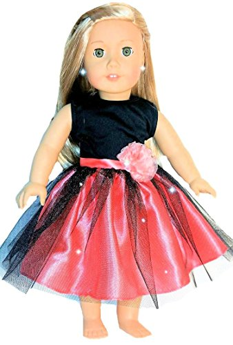 Ballet Costume Ballerina Dance Dress Doll Outfit | 18-inch Doll Clothes & Accessories | Outfits for American Girl Dolls | Doll Connections | Tammy Lee Designs