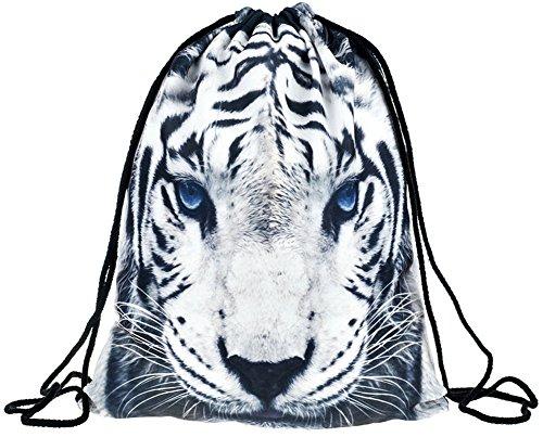 Ababalaya Drawstring Backpack Rucksack Shoulder