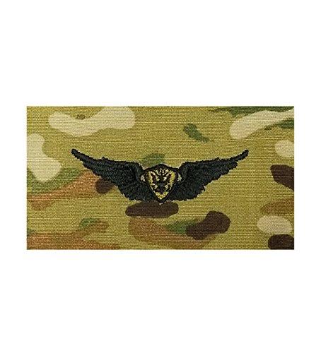 Aviation Aircrewman Basic US Army Badge (OCP)