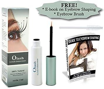 6be1afa2405 SALE 100% Natural Olash Eyelash Growth Serum - BONUS EYEBROW BRUSH plus  E-BOOK
