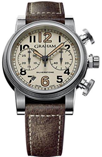 Mens Graham Watch Silverstone Vintage 44 2SABS.W01A.L18S