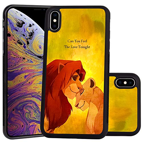 - DISNEY COLLECTION Lion King Design for Apple iPhone Xs Max 6.5-inch Case Soft TPU and PC Tired Case Retro Stylish Classic Cover