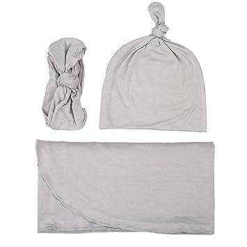 Amazon.com: Cobija para recién nacido, juego de diadema ...