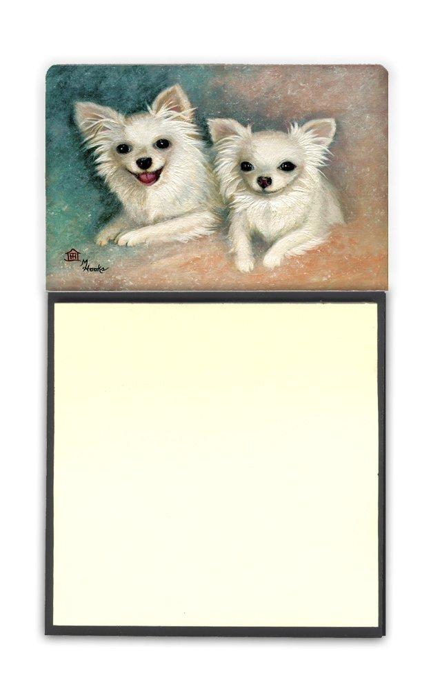 MH1064SN Carolines Treasures Desk Artwork Notepad Holder Multicolor