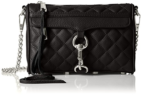 Rebecca Minkoff Quilted Mini Mac,Black,One Size (Rebecca Mini Mac Minkoff)