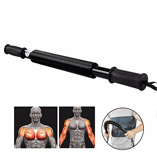 Maxiiz3D Easy Fitness Self Trainning Muscle Bar Arm Exercise Equipment Strength Enhancement Benefit Arm Chest Looking Good For Home, Apartment, Office, Men and Women Daily Use SPR441A by Maxiiz3D