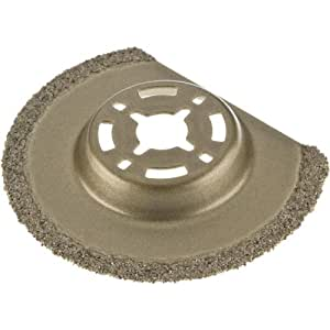 Grizzly T25150 2-9/16-Inch Carbide Grit Saw Blade for Oscillating Multi-Tools