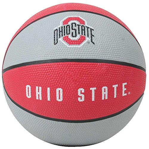 Ohio State Buckeyes Mini Rubber Basketball