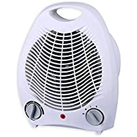 Smart Desktop 1500 Watt Quiet Fan Space Heater Compact table top & Adjustable Thermostat