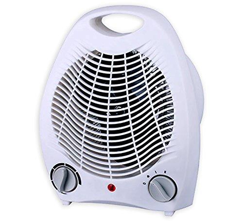 - Smart Desktop 1500 Watt Quiet Fan Space Heater Compact table top & Adjustable Thermostat