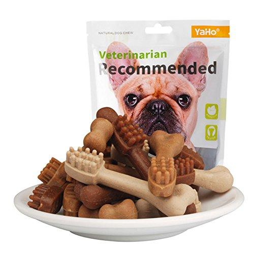 HaloVa Dog Treats, Dog Bones, Puppy Chews Snacks for Dog Training ()