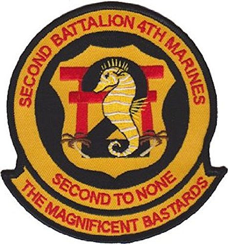 2nd Battalion 4th Marines USMC Patch