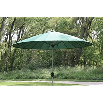 9  10u0027 Outdoor Wind Resistant Patio Umbrella With Aluminum Pole