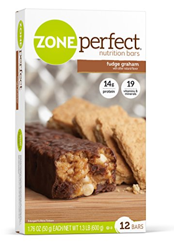 ZonePerfect Nutrition Bars, Fudge Graham, 1.76 oz, 12 Count by Zone Perfect