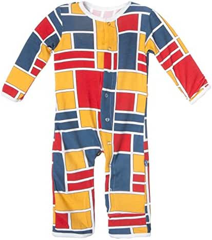 KicKee Pants Baby-boys  Print Coverall