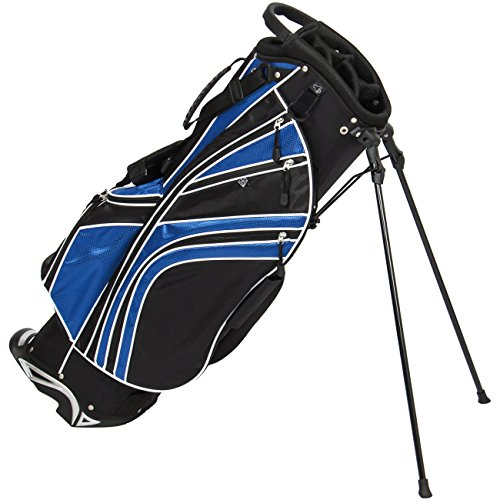 Best Choice Products 6-Way Golf Club Bag Stand Divider Organizer w/Adjustable Padded Carry Straps -...