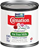 Carnation Carnation Evaporated Milk Fat Free, 5-Ounce Cans (Pack of 24)