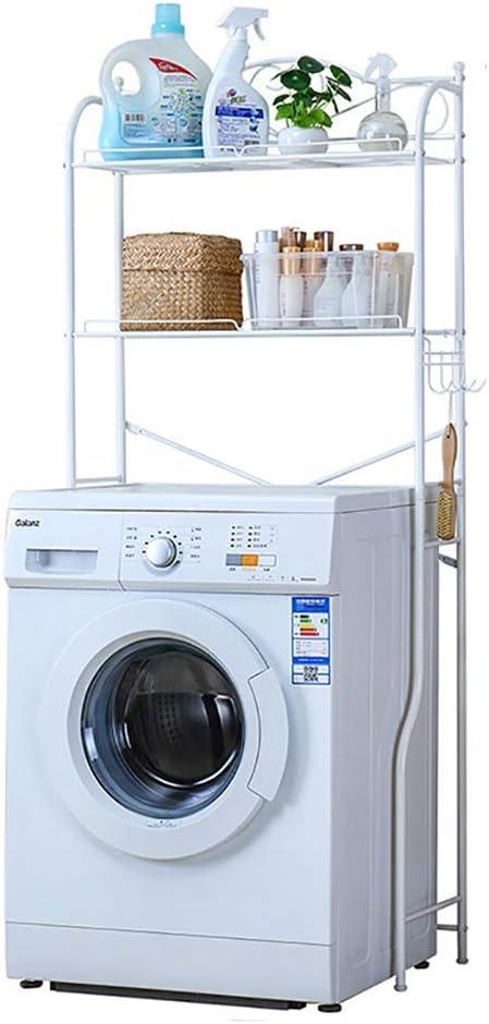 ZNZ Euro Minimalist Waschmaschine Regal Mit 2 Regalen ...