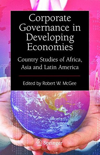 Corporate Governance in Developing Economies: Country Studies of Africa, Asia and Latin America by Springer