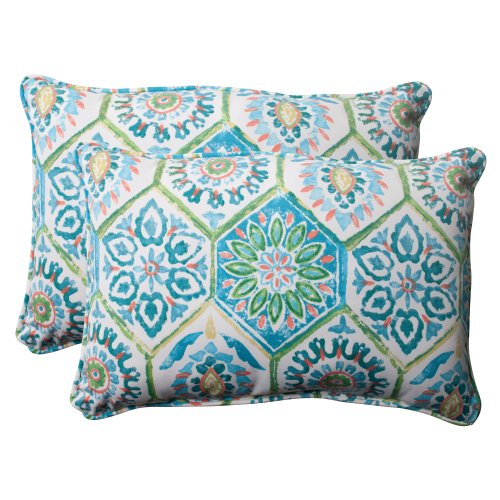 Pillow Perfect Indoor/Outdoor Summer Breeze Corded Oversized
