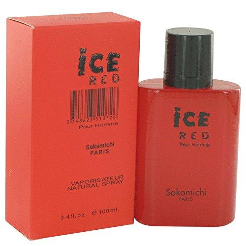 Sakamichi Ice - Ice Red By Sakamichi Eau De Parfum Spray 3.4 Oz Men
