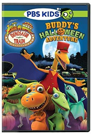 Pbs Kids Halloween Dvd.Amazon Com Dinosaur Train Buddy S Halloween Adventure Movies Tv