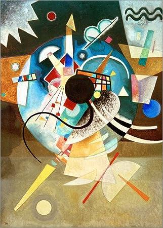 Posterlounge Alu Dibond 30 x 40 cm: A Centre di Wassily Kandinsky/akg-images