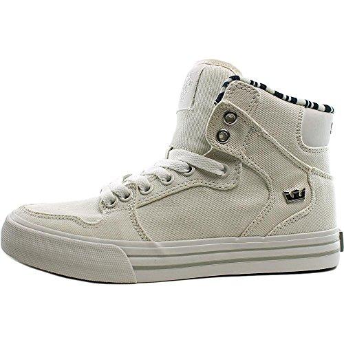 Chaussure De Skate Supra Vaider Gris Clair - Blanc