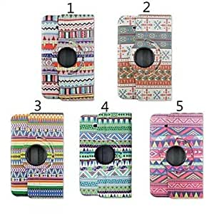 Ripple Pattern Special Design PU Leather Full Body Cases for Samsung Tab 3 Lite(T110) (Assorted Colors) , 4#