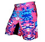 Crossfit Shorts, MMA Shorts, Kick Boxing Shorts - Digital Camo - Stunning Shorts