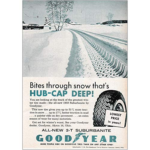 Buy tires for deep snow