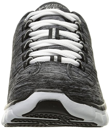 Skechers Sport Donna Elite Sinergia Moda Sneaker Heather Nero