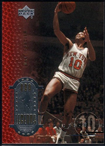 1999-00 (2000) Upper Deck Legends Basketball #15 Walt Frazier New York Knicks Official UD NBA Trading Card