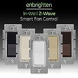 GE Enbrighten Z-Wave Plus Smart Fan Control, Works with Alexa, Google...