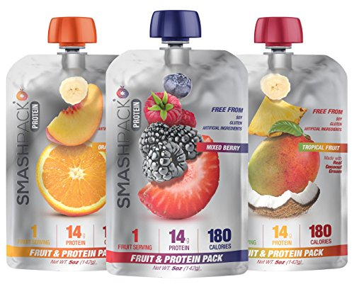 SmashPack Fruit Protein Smoothie Squeeze product image