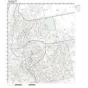 Amazon.com: ZIP Code Wall Map of Chicopee, MA ZIP Code Map Not