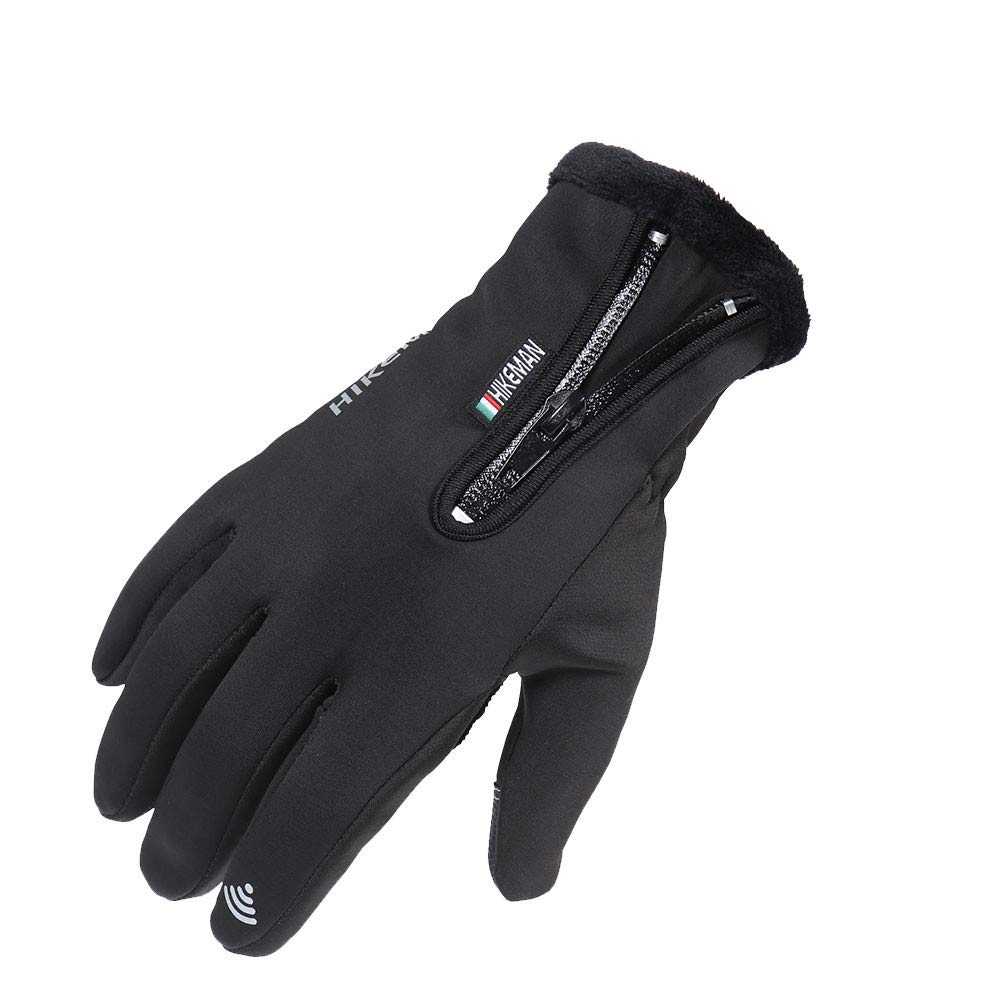 YunZyun Mens Womens Winter Thermal Warm Waterproof Windproof Snow Gloves for Skiing Driving Biking