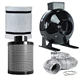 6 charcoal filter combo - Penseetek 4 Inch 190 CFM Carbon Air Filter for Include 4